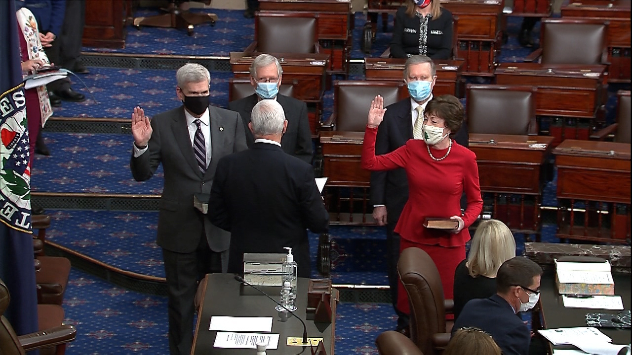 Cassidy swearing-in for second term