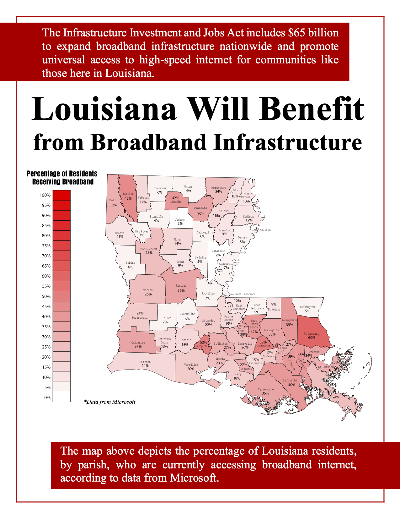 LA Broadband Map