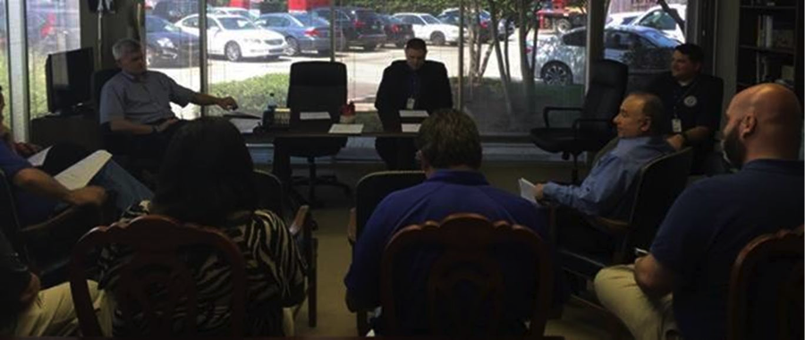 Cassidy Meets with Officials
