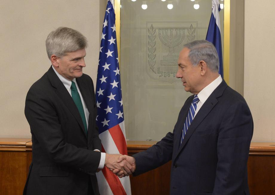 Meeting the Prime Minister of Israel, Benjamin Netanyahu.