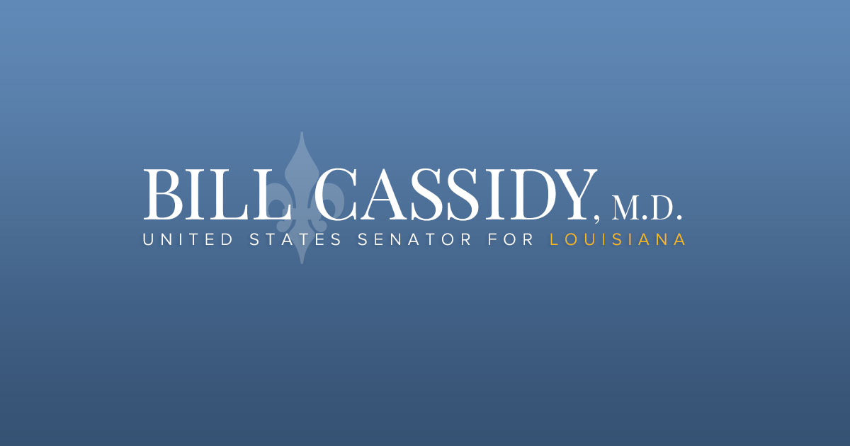 Grants | Helping You | U S  Senator Bill Cassidy of Louisiana